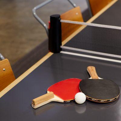 Takatsuki Terminals has a ping pong table, too
