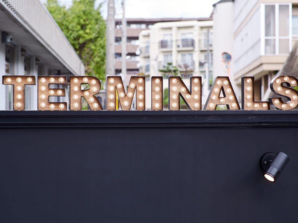 Terminals sign