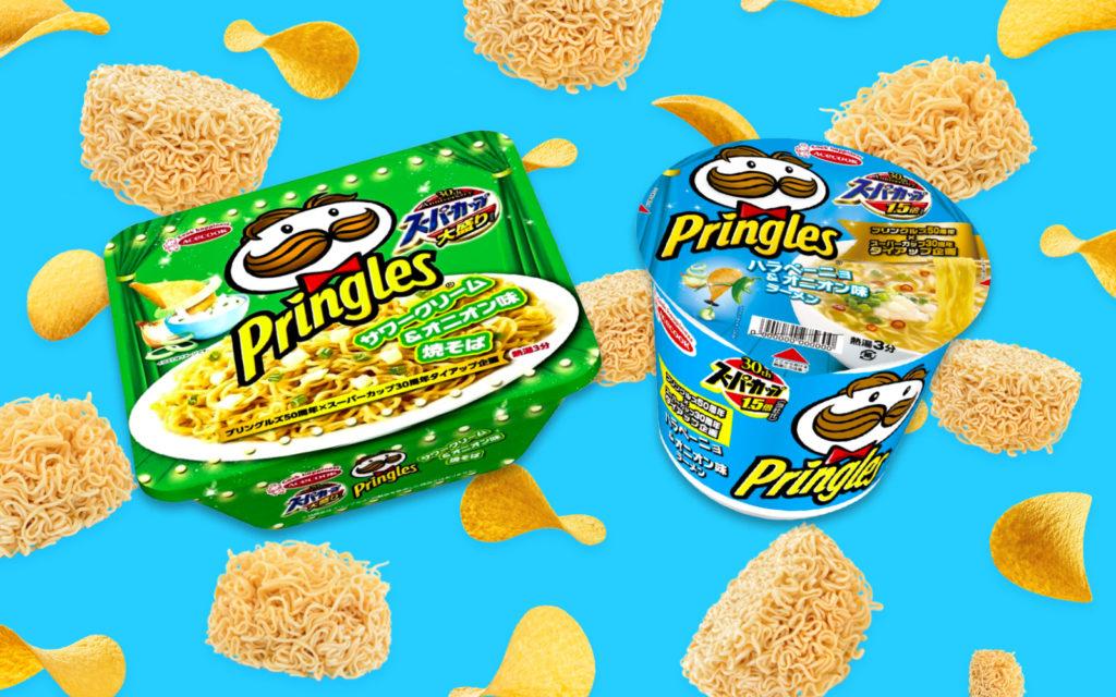 Japan Now Has a Pringles Flavor Cup Ramen
