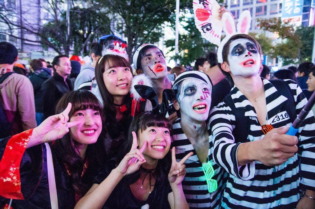 Halloween parties in Japan 2018