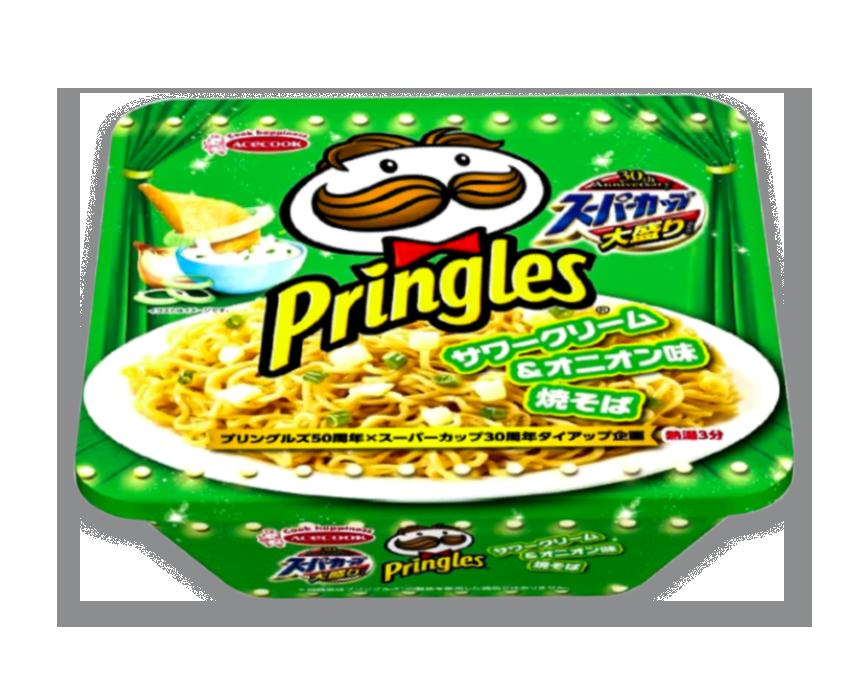 Pringles Sour Cream and Onion Ramen