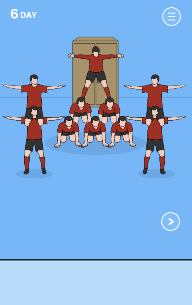 Hidden my game by mom gymnastics team