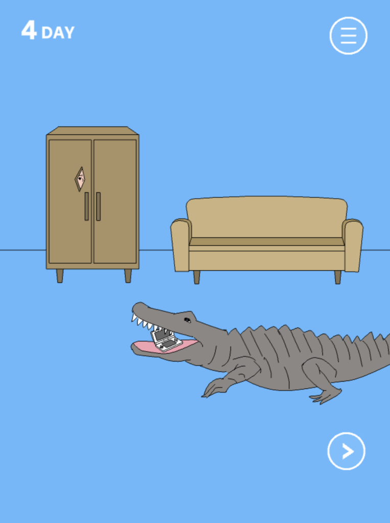 Hidden my game by mom crocodile