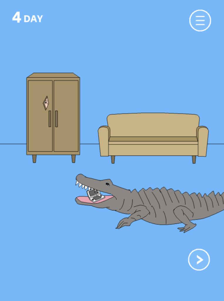 Hidden my game by mom crocodile