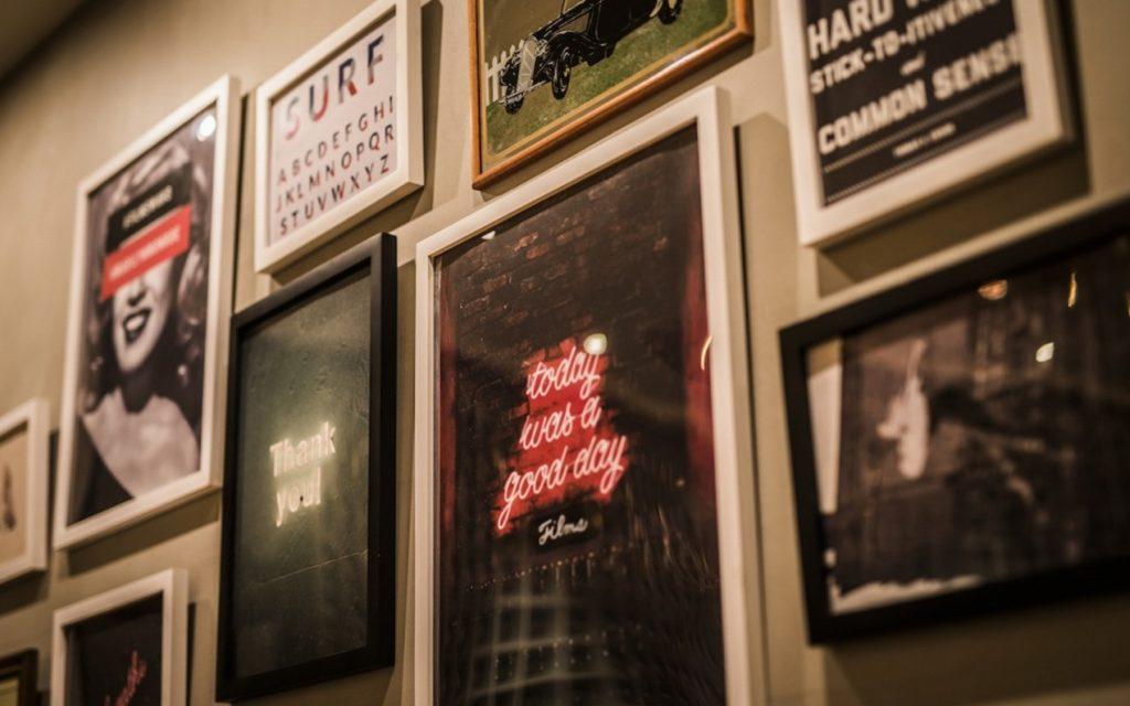 Wall art at Films Wako by Social Apartment