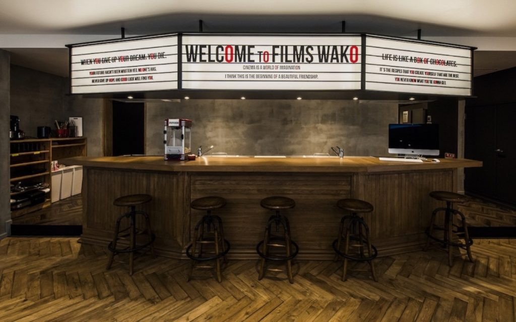 Kitchen counter at Films Wako by Social Apartment