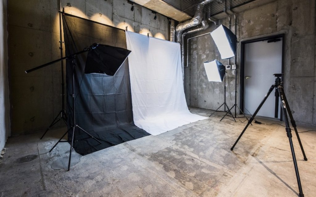 The photo studio at Films Wako by Social Apartments