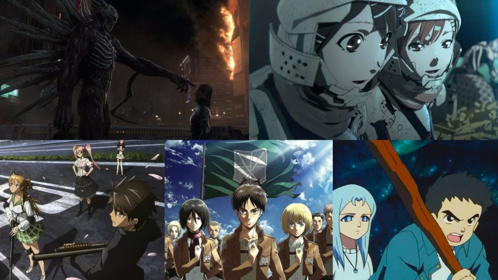 Top 5 Post Apocalyptic Anime to Watch While Social Distancing