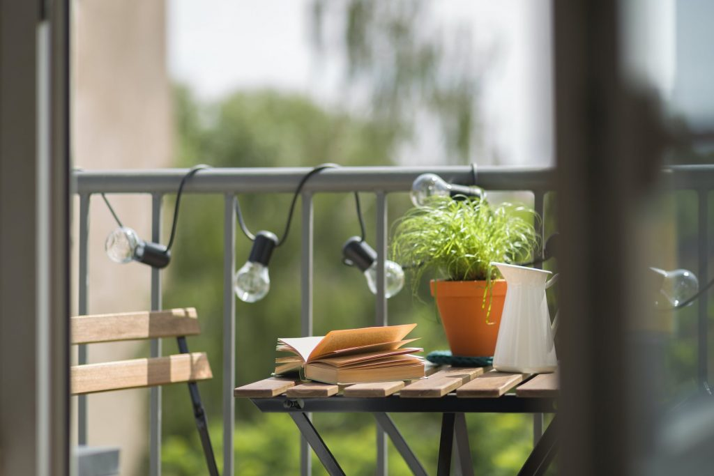 Making The Most of Your Balcony in a Japanese Apartment