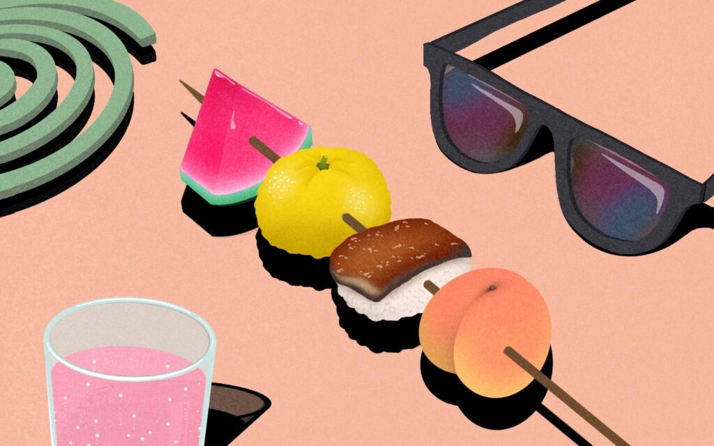 Japan's Summer Foods