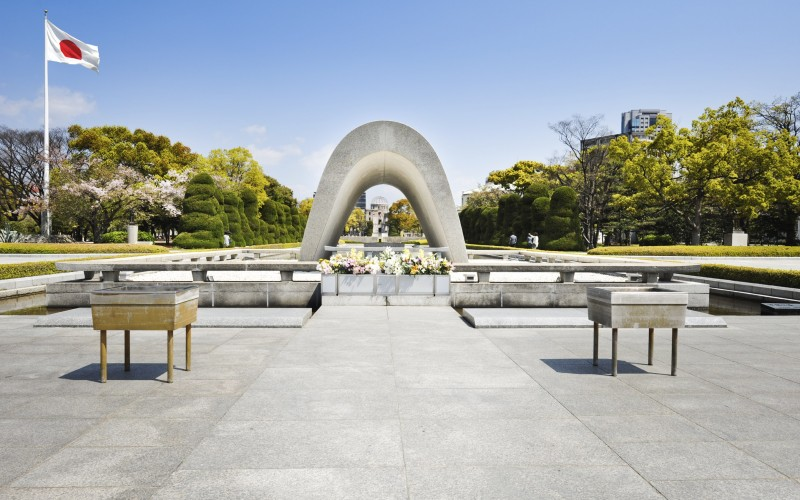 The Hiroshima Peace Memorial Park is incredibly moving.