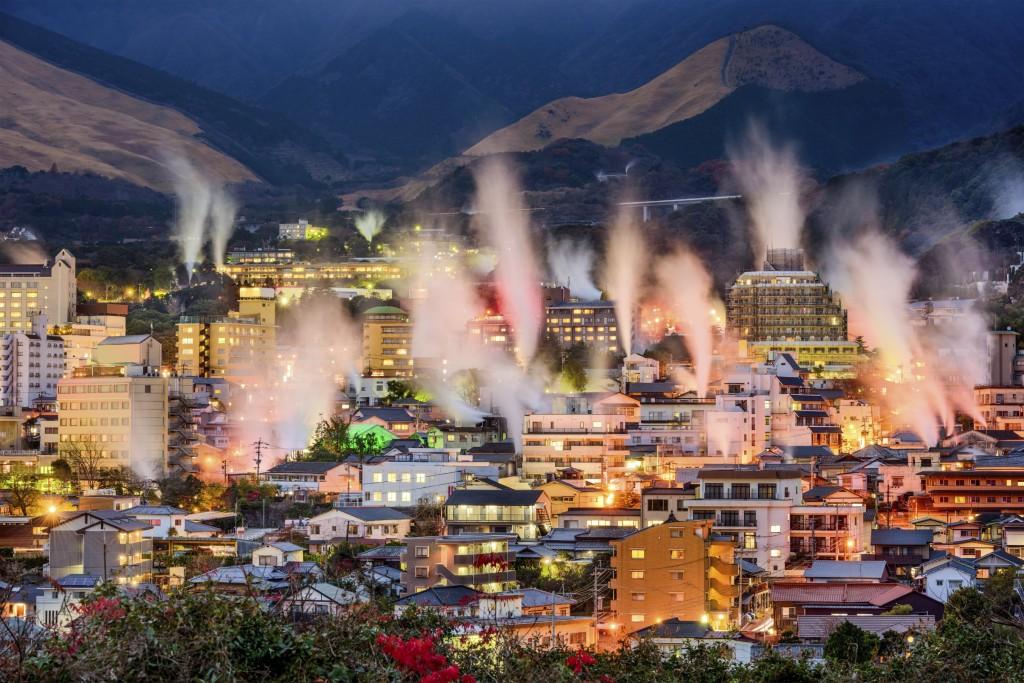 Beppu, in Oita prefecture, Japan's onsen town