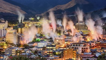 Beppu, in Oita prefecture, Japan's onsen town