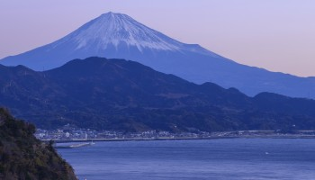 View of Mount Fuji, Shizuoka Prefecture