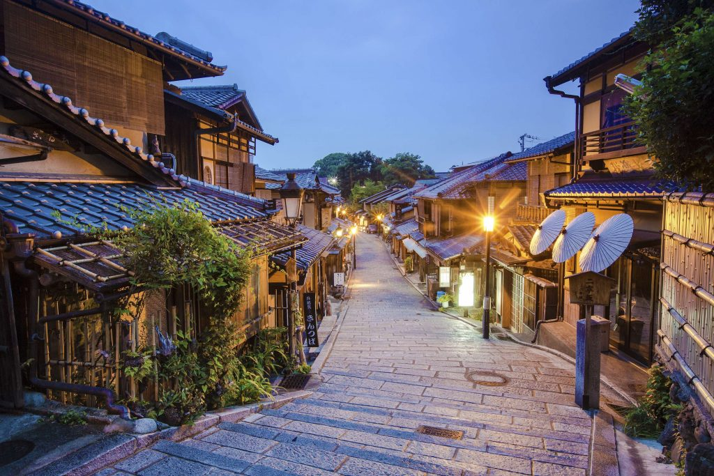 Explore this fashionable pleasure quarter well-preserved since the classical period of Japanese history.