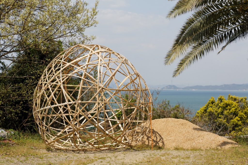 Art piece on Teshima island.