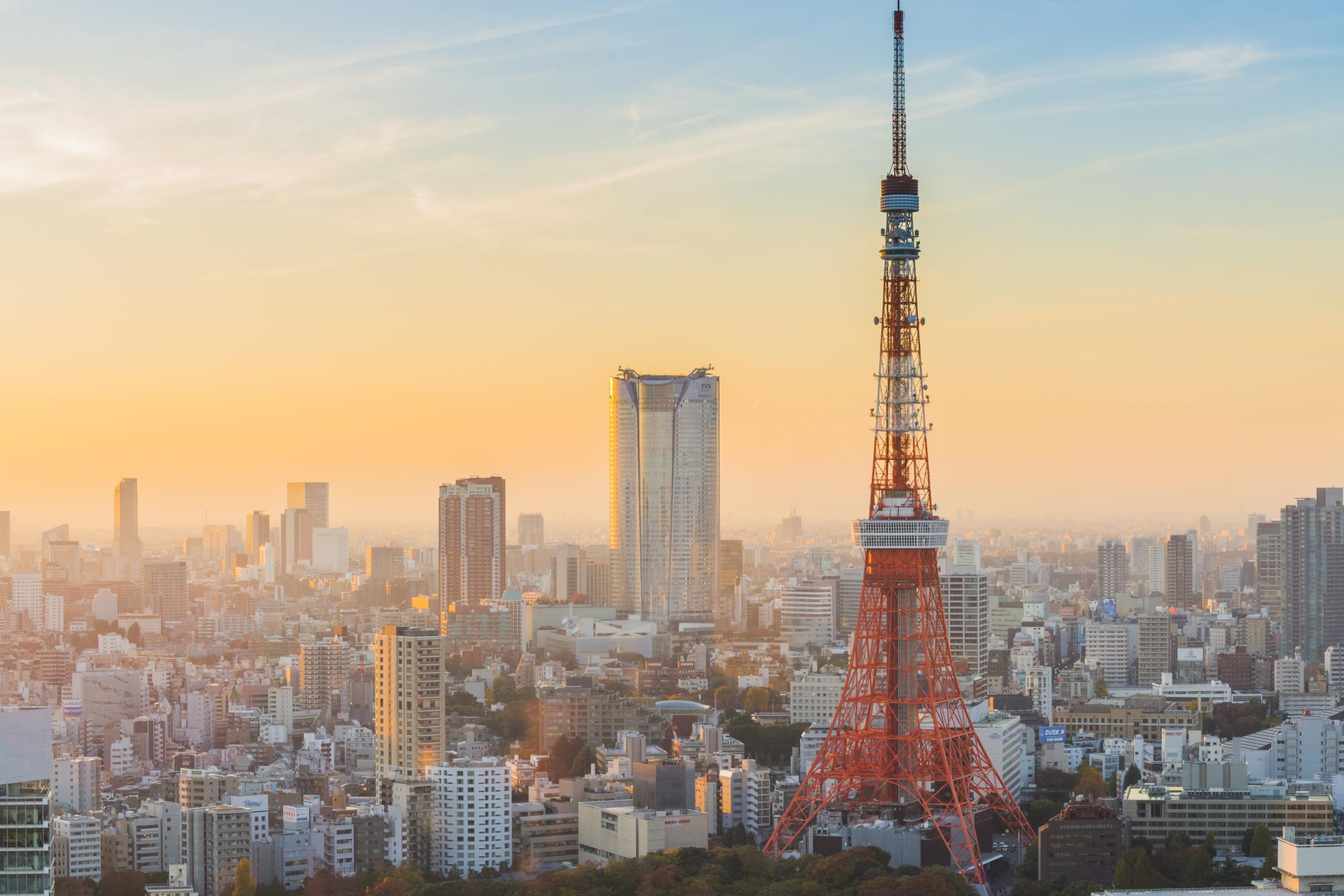 Bildergebnis für Tokyo Tower