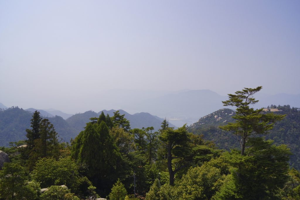 The view from the top of Mount Misen is hard to beat.