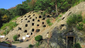 Hundred Caves of Yoshimi in Saitama