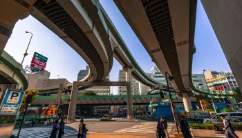 Under a Tokyo Expressway on the way to Otome Road Ikebukuro