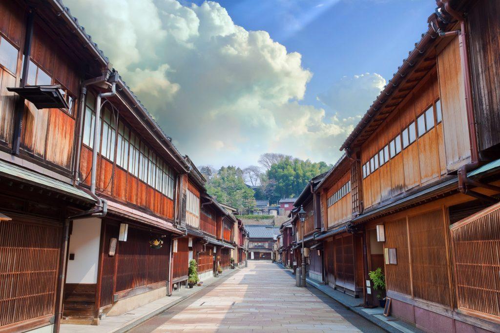 A scenic picture of Keisha village